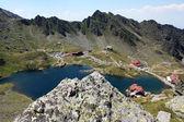 Scena jeziora balea od transfagarasan, rumunia — Zdjęcie stockowe