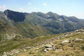 Mountain landscape in Fagaras mountains, Romania — Stock Photo