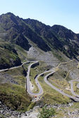 The most famous road in Romania, Transfagarasan — Stock Photo