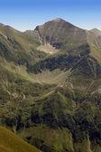 Stony ridge in Fagaras mountain from Romania — Stock Photo