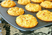 Carrot and Apple Muffins — Stock Photo