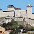 THE CASTLE OF SPOLETO — Stock Photo