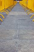 Bariera ścieżka — Zdjęcie stockowe