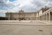 Palacio real, madrid — Foto de Stock