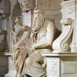 Stock Photo: Michelangelo's Moses
