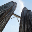 KLCC petronas towers — Stock Photo