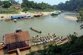 Taman Negara - Boat in the Jetty — Stock Photo