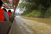 Taman Negara - Speed Boat — Stock Photo