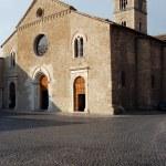assisi, terni, İtalya'nın Aziz francesco Kilisesi — Stok fotoğraf
