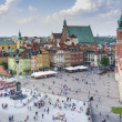 Old Town in Warsaw, Poland - panoramic view — Stock Photo