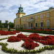 Rose garden in Wilanow palace, Warsaw — Foto de Stock