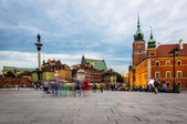 Old Town in Warsaw — Stock Photo