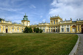 Wilanow Palace in Warsaw, Poland — Stock Photo
