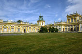 Royal Wilanow Palace in Warsaw, Poland — Stockfoto