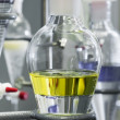 Chemical experiment test - Stock Photo