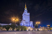 Palace of Culture and Science, Warsaw, Poland — Stock Photo