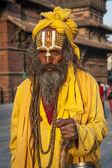Ascetic monk, Sadhu holy man — Stock Photo