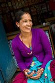 Portrait of Nepal's women — Stock Photo