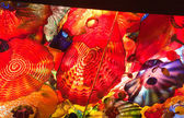 Chihuly blown glass — Stock Photo