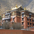 Labrang Tibetan Buddhist Monastery in Xiahe - Stock Photo