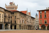 Plaza Mayor in Vic — Stock Photo