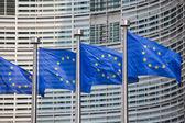 Bandeiras europeias — Foto Stock