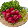 Radish and other vegetables — Stock Photo