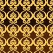 Abstract backgrounds, damask ornament, classic seamless pattern, vector wallpaper, floral fashion fabric and arabesque wrapping with graphic element for decoration and design - Stock Photo