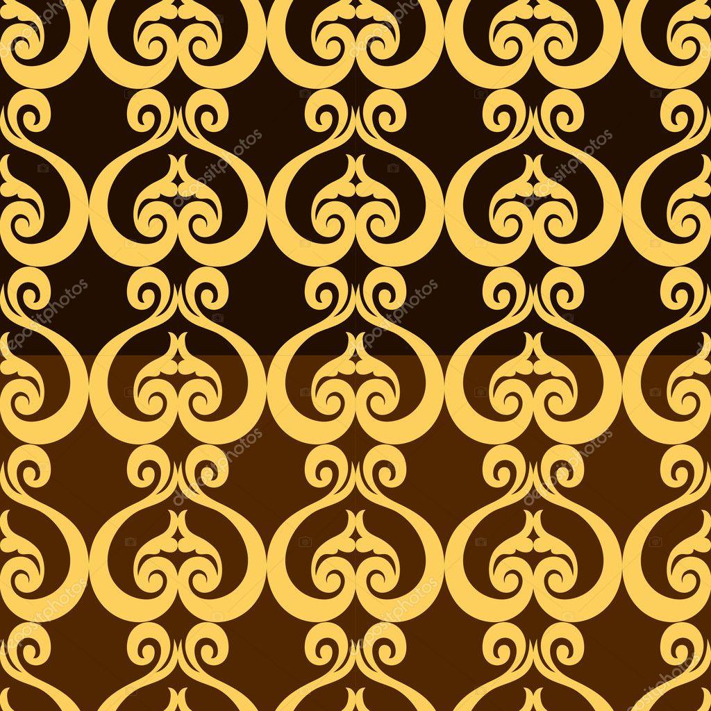 Twitter facebook pinterest google plus for Arabesque style decoration