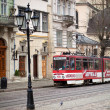 Lviv street, Ukraine — Stock Photo