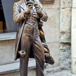 ������, ������: The monument of Leopold von Sacher Masoch in Lviv