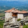 The monastery in Meteora, Greece - Foto Stock