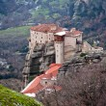 Meteora monastery, Greece — Stock Photo