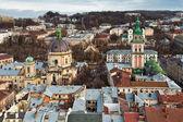 City Lviv in Ukraine — Stock Photo