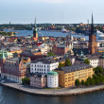 Widok klasyczny, Sztokholm, Szwecja — Zdjęcie stockowe #11974651