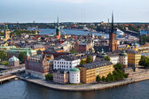 Classic view of Stockholm, Sweden — Stock Photo