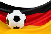 Germany's passion for football — Stock Photo