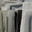 Natural stone panels - Stock Photo