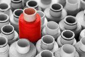 Red eye-catcher concept shot — Stock Photo