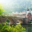 "The ""Old Bridge"" in Heidelberg, Germany - Stock Photo"