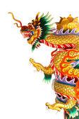 Chinese stijl draak standbeeld — Stockfoto