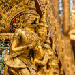 Stucco Thai art style in Grand Palace Bangkok Thailand — Stock Photo
