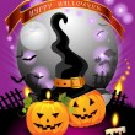 Halloween card design — Stock Vector