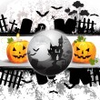 Halloween card design — Stock Vector #12352124