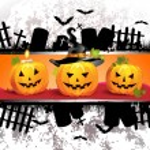 Halloween card design — Stock Vector #12352125