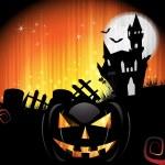 Halloween card design — Stock Vector #12352143