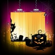 Stock Vector: Halloween banner