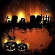 Halloween background — Vettoriale Stock #12352193