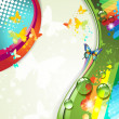 Colorful abstract background — Image vectorielle