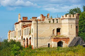 The historic architecture of a summer day in the sky. Manor Khra — Stock Photo